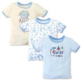 Cotton Stuff - 3-piece T-Shirt (Little Chief) 9-12 Months