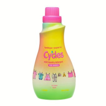 Cycles Mild Laundry Detergent for Babies Liquid 1.5L
