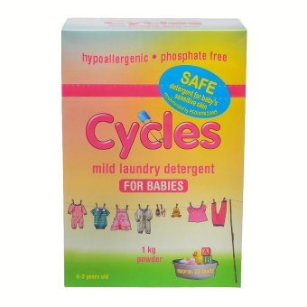 Cycles Mild Laundry Detergent for Babies Powder 1kg