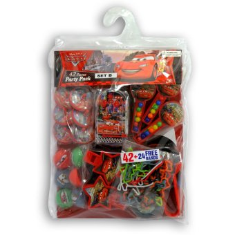 Disney Cars Party Pack Set B