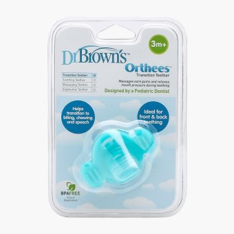 Dr. Brown's Orthees Teether (Teal) Price Philippines