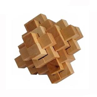 E adult Luban lock burr puzzle