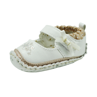 Enfant Baby Girl Shoes (Cream)
