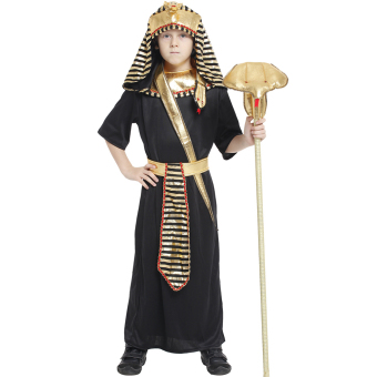 EOZY Boys Halloween Costumes Ancient Egypt Egyptian Pharaoh Cosplay Kids Photography Stage Performance Clothing -L Price Philippines