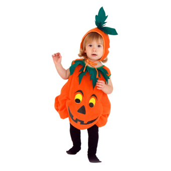 EOZY Children's Halloween Cosplay Costume Clothes Cute Pumpkin Clothes For Boys And Girls -M (Orange) - Intl Price Philippines