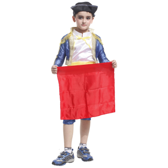 EOZY Kids Spanish Bullfighter Festival Dancing Costumes HalloweenMasquerade Performance clothing Matador Costumes Prince Clothing -M Price Philippines