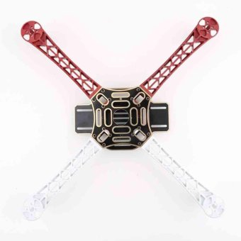 F450 Multi-Copter Quad-copter Kit Frame QuadX Quad MultiCopter KKMK MWC Red - intl Price Philippines