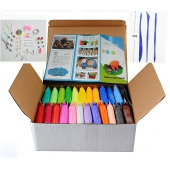 FC 24Colors Diy Soft Polymer Modelling Clay Set - intl