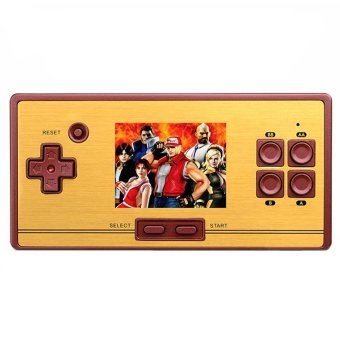 FC-POCKET Classic 8 Bit Game Portable Console Family Computer 600 Games(Maroon) Price Philippines