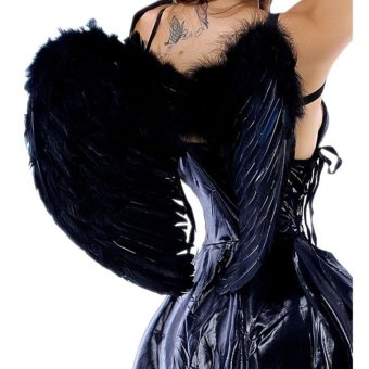 Feathers Angel's Wing (Black) (Intl)