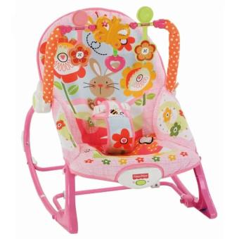 Fisher-Price Infant To Toddler Bunny Baby Rocker