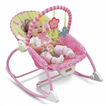 Fisher-Price Infant To Toddler Rocker, Bug Friends