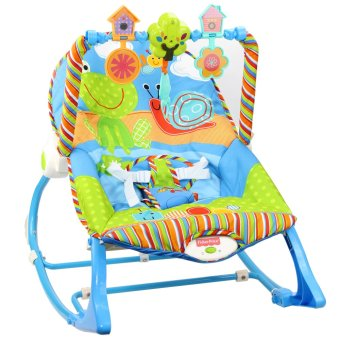 Fisher Price X7033 Infant To Toddler Rocker Gender Neutral Frog Snail