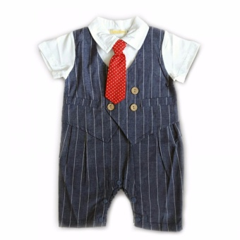 Gentlemen Suit Romper (Blue) For 18 to 24 Months Old