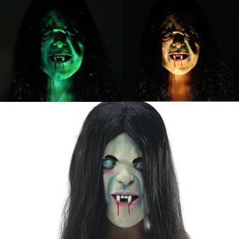 Palight Plastic Horror Skull Jaw Mask Terror Half Face Shied