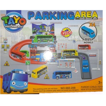HE Tayo Little Bus Parking area