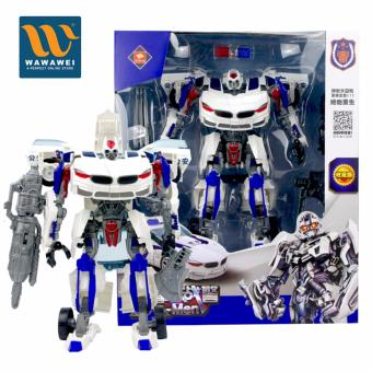 High Quality Police Transformation Robot Toys Robocar Robot CarDeformation Robot Bus Toys For Kids Children 8820B Price Philippines