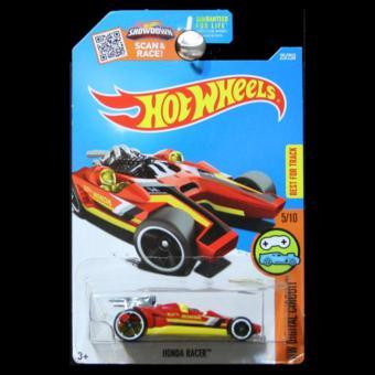 Hot Wheels 2016 Digital Circuit Honda Racer in Red