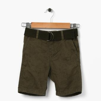 Harga Just Jeans Boys Acid Detail Chino Shorts (Green)