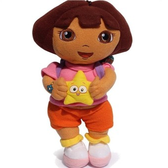 lovely Dora the Explorer with Star Extra Large Plush Doll Price Philippines
