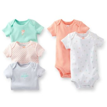 Harga Carter's 5-Pack Bodysuits - Hot Air Balloon