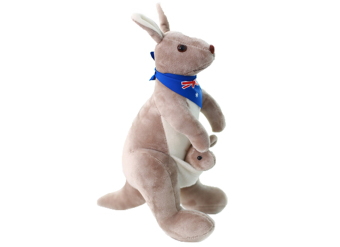 niceEshop Cute Kangaroo Stuffed Animal Soft Plush Doll Toys for Baby Kids (Blue) Price Philippines