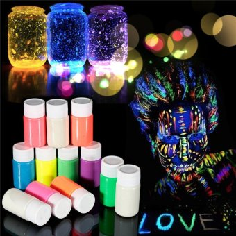 Harga 1xUV Glow Neon Face & Body Paint - 20ml SET Fluoro Party Glow Artistic Hot Yellow
