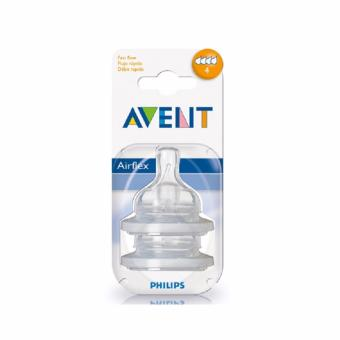 Philips AVENT BPA Free Fast Flow Classic Nipple, 2-Pack Price Philippines