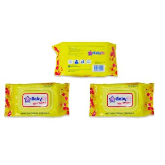 Harga Baby Fit Wet Wipes 80's 3's 151422