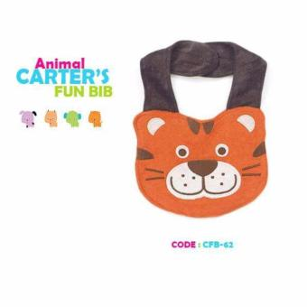 Harga Carter's Bib Animal design cotton color Orange
