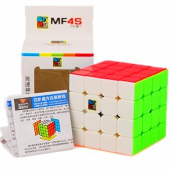 Harga Moyu Mofang MF4S Stickerless Magic cube 4X4X4 Speed Rubik's Cube MF8805