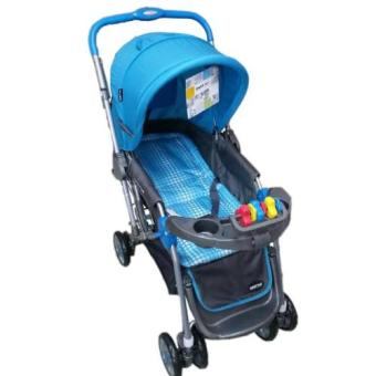 Baby 1st CD-S036B Stroller w/ Toy and Reversable Handle (Blue) Price Philippines