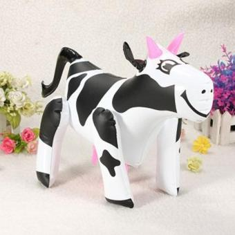 Harga Baby Kids Inflatable Cow Blow Up Farm Animal Party Game Toys - intl