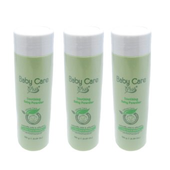 Baby Care Plus Natural Care Soothing Baby Powder Set of 3 150g Price Philippines