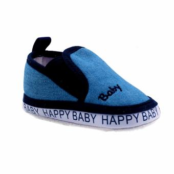 BABY STEPS Happy Baby Boy Shoes (Blue) Price Philippines