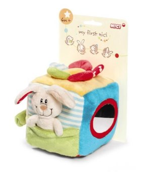 Harga MY FIRST NICI Soft Cube Rabbit Plush