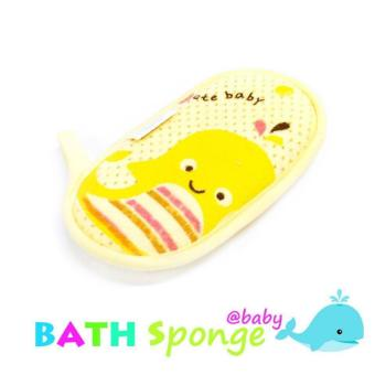 Harga New 2017 Beststore Baby Shop Little whale baby BATH SPONGE (Yellow)
