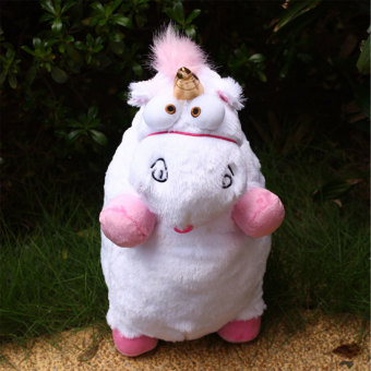 Harga 1Pcs Despicable Me Fluffy Unicorn Soft Stuffed Plush Doll Gifts Decor For Kid - intl