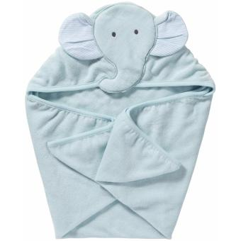 Harga Carter's Hooded Towel - Blue/Green Elephant