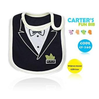 Harga BABY STEPS Carter's Cute Suit Baby Feeding Bib