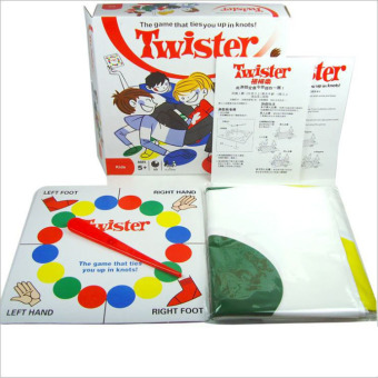 Harga XTV Classic Twister Game, Floor Board Game, Sports Fun Party Game for All Ages