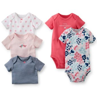 Harga Carter's 5-Pack Bodysuits - Little Sweetheart