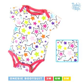 Baby Steps Onesie Stars Bodysuit 3-6 Months (Multicolor) Price Philippines