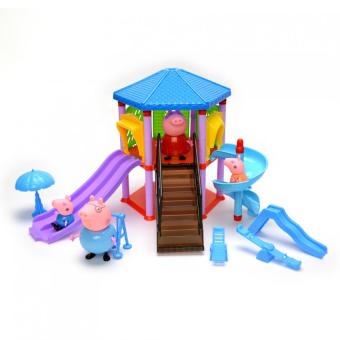 Harga Peppa Pig NO-6044 Amusement Park