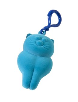 Rubbabu Kitty Key Chain (Turquoise) Price Philippines