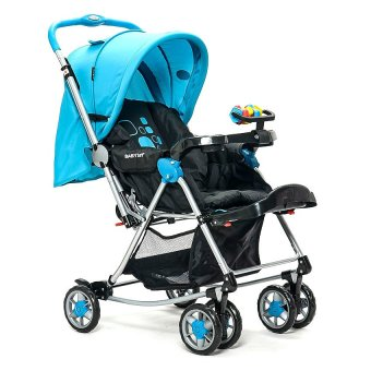 Baby 1st 3-Way Stroller with Rocking Feature (Blue) Price Philippines