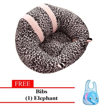 MMC New Baby Sitting Chair Soft Baby Nursing Pillows 001 (Gray) With Free Baby Bibs Elephant Price Philippines