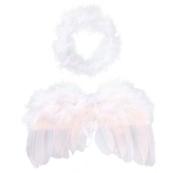 Baby Girls Angel Wings Wing Set Feather Newborn Photography Pro Price Philippines
