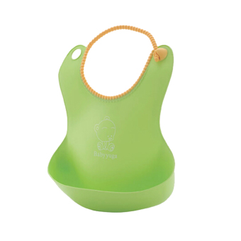 Harga Silicone Disposable Bib Baby Bib children bibs children pick rice pocket boys and girls 4 color offers