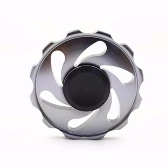 Stainless steel EDC Circular Fidget Spinner (Silver) Price Philippines